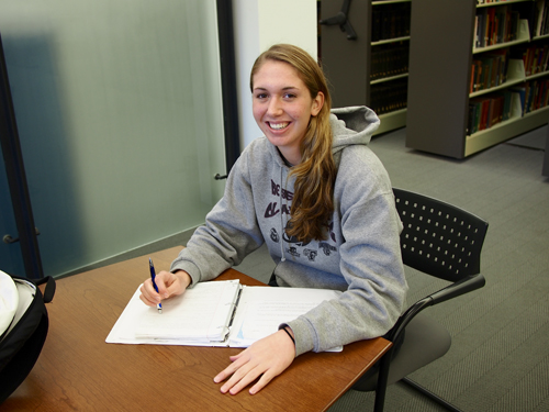 Homan has earned Patriot League Academic Honor Roll  accolades in her time at Lafayette.