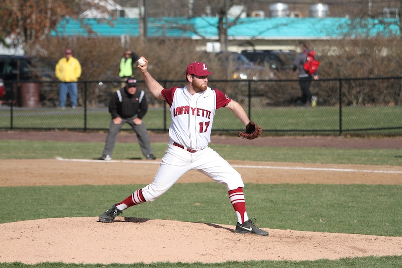 Sophomore pitcher Rob Ewald takes the mound for the Leopards.