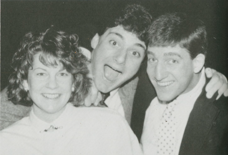 Members of the class of 1988. [Photo courtesy of the Lafayette College]